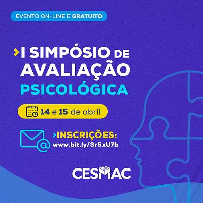 I- Simpósio- de -Avaliação- Psicológica- do- Cesmac- (01)